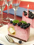 Raspberry birthday girl's torte Royalty Free Stock Photos