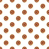 Raspberry biscuit pattern seamless vector. Repeat for any web design royalty free illustration