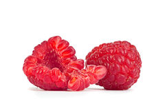 Raspberry broken part Royalty Free Stock Photos