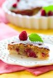 Raspberry cake Stock Images