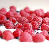 Raspberry cake. Royalty Free Stock Photo