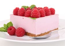 Raspberry cake Stock Photo