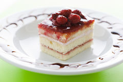Raspberry cake Royalty Free Stock Photos