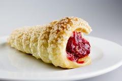 Raspberry cake Stock Photography