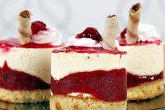 Raspberry cake food background Royalty Free Stock Photos