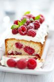 Raspberry Cake for holidays Stock Photos