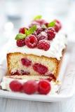 Raspberry Cake for holidays Stock Photos