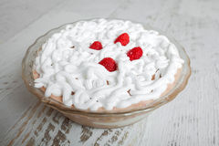 Raspberry cake - sweet delight Royalty Free Stock Photography