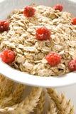 Raspberry cereal stock photos