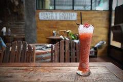 Raspberry cocktail stock photo