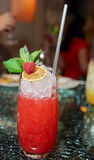 Raspberry cocktail Royalty Free Stock Photo