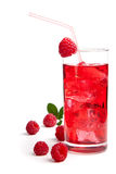 Raspberry Cocktail Stock Image