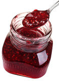 Raspberry confiture Stock Photos