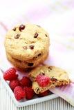 Raspberry cookies. Close-ups of taspberry cookies - sweet food Royalty Free Stock Images