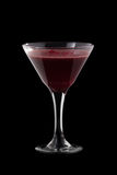 Raspberry Cosmopolitan coctail Royalty Free Stock Photos