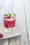 Raspberry Cream Stock Photos