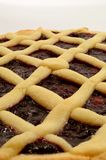 Raspberry Crostata - Italian tart Stock Images