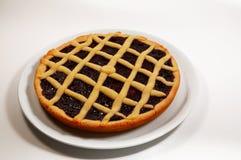 Raspberry Crostata - Italian tart Royalty Free Stock Photo