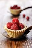 Raspberry cupcake Royalty Free Stock Image