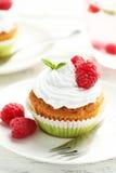 Raspberry cupcakes Royalty Free Stock Photo