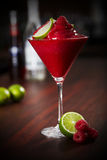 Raspberry daiquiri Royalty Free Stock Image