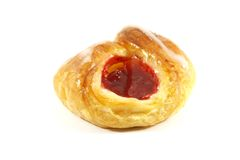 Raspberry Danish Pastry Royalty Free Stock Images