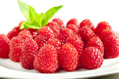 Raspberry dessert Royalty Free Stock Photos