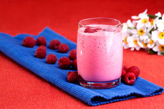 Raspberry Drink royalty free stock image