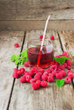 Raspberry drink Stock Image
