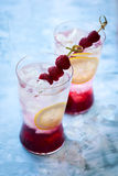 Raspberry Drink Royalty Free Stock Photos