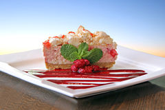 Raspberry eton mess Stock Images
