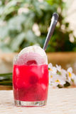 Raspberry Float Royalty Free Stock Photography