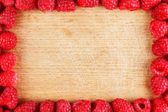 Raspberry frame Royalty Free Stock Images
