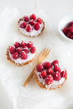 Raspberry frangipane Royalty Free Stock Images