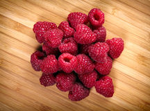 Raspberry fruit background Stock Images