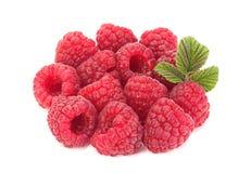 Raspberry fruit closeup Royalty Free Stock Image