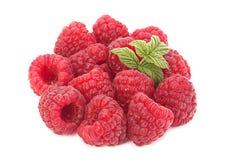 Raspberry fruit closeup Stock Image