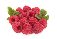 Raspberry fruit closeup Royalty Free Stock Photo