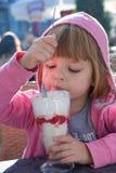 Raspberry icecream Royalty Free Stock Photography