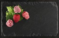 Raspberry. Isolated on black background Stock Image