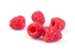 Raspberry isolated on white background. Fresh raspberry isolated on a white background Royalty Free Stock Image