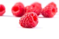 Raspberry isolated on white background. Fresh raspberry isolated on a white background Stock Photo