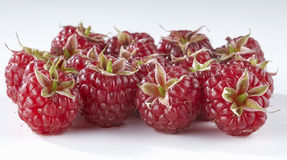 Raspberry isolated on white background. Red ripe berry raspberry isolated on white background stock image