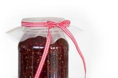 Raspberry jam Stock Image