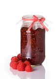 Raspberry jam Stock Images