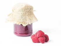 Raspberry jam Stock Photos