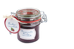 Raspberry jam Royalty Free Stock Images