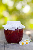 Raspberry jam Royalty Free Stock Photography