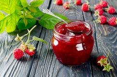 Raspberry jam Royalty Free Stock Images