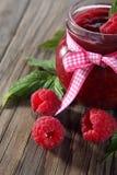 Raspberry jam Royalty Free Stock Photos